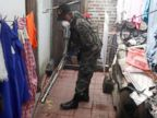 PHOTO: A soldier fumigates a house as part of the city's effort to prevent the spread of Zika virus' vector, the Aedes aegypti mosquito, in Tegucigalpa, Honduras, July 20, 2016.