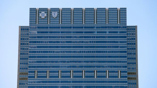 PHOTO: Blue Cross Blue Shield tower, July 9, 2014, in Chicago, file photo.