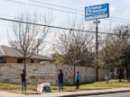 PHOTO: Anti-abortion, pro-life activists pray outside a Planned Parenthood clinic, Feb. 22, 2016, in Austin, Texas.