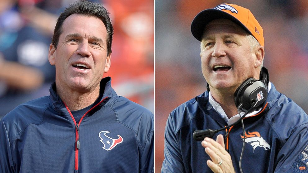 PHOTO: Football Coaches Gary Kubiak and John Fox