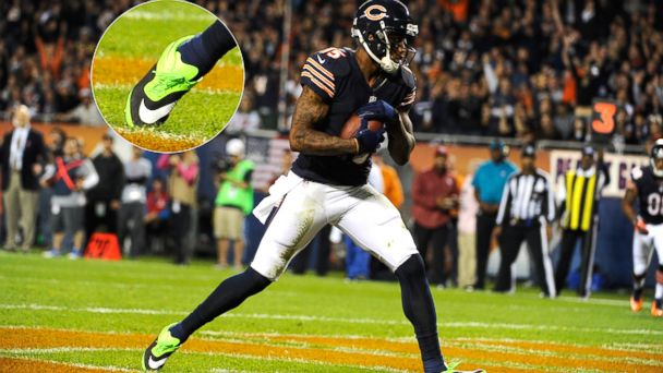GTY Brandon Marshall nt 131011 16x9 608 NFL Star Fined For Wearing Green To Raise Awareness for Mental Illness