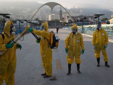 Health Experts Want Rio Olympics Moved Over Zika Fears