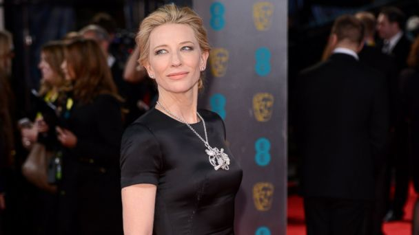 PHOTO: Cate Blanchett attends the EE British Academy Film Awards 2014 at The Royal Opera House on Feb. 16, 2014.