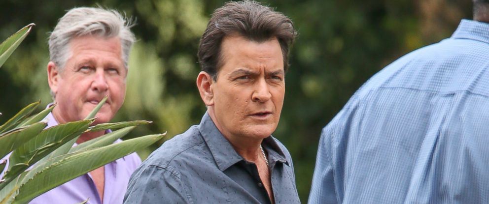 PHOTO: Charlie Sheen is seen in Los Angeles, May 12, 2015.