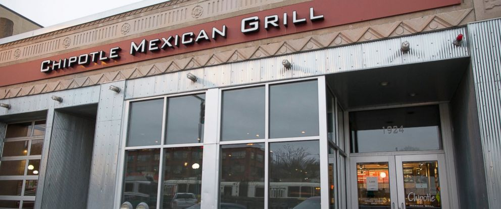 PHOTO:The exterior of Chipotle Mexican Grill is seen on Beacon St., Dec. 8, 2015, in Boston.