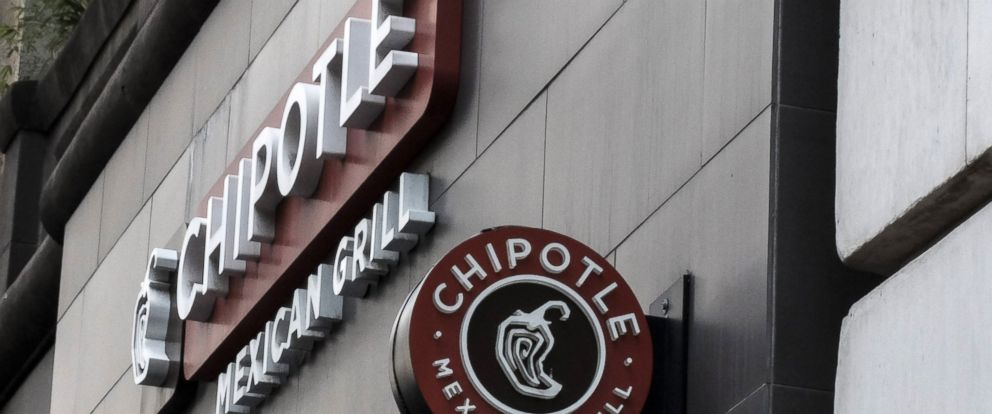 PHOTO: A Chipotle restaurant sign is seen in Manhattan on Sept. 11, 2015 in New York City.