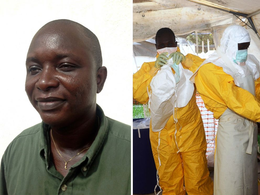 PHOTO: Dr. Sheik Umar Khan contracted Ebola while working to curb the deadly outbreak.
