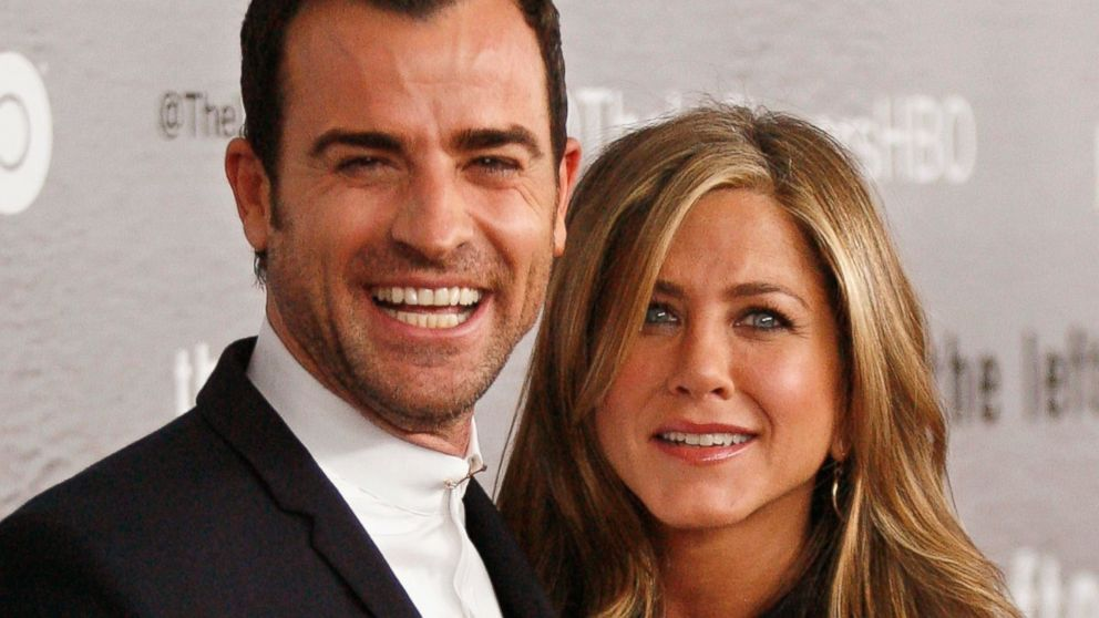 "PHOTO:Actors Justin Theroux and Jennifer Aniston attend ""The Leftovers"" premiere at NYU Skirball Center, June 23, 2014 in New York."