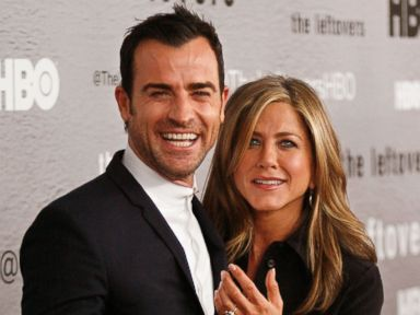 See Jennifer Aniston and Justin Theroux Look More in Love Than Ever
