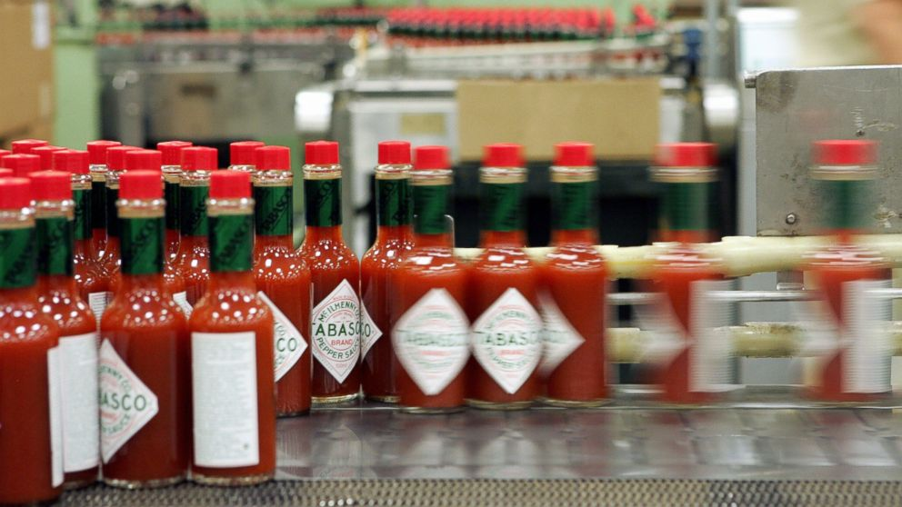 PHOTO: Dozens of health workers in Texas are using Tabasco sauce to help drill fo