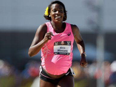 8.5-Months Pregnant Runner Completes 800-Meter Race
