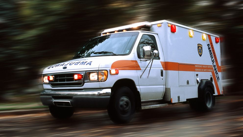 PHOTO: An ambulance speeds down the road in this undated file photo.