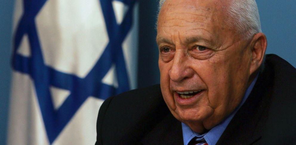 PHOTO: Former Israeli Prime Minister Ariel Sharon