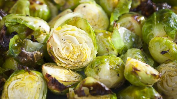 PHOTO: Roasted Brussels sprouts.