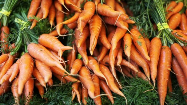 PHOTO: Eat too many carrots and you can turn orange.