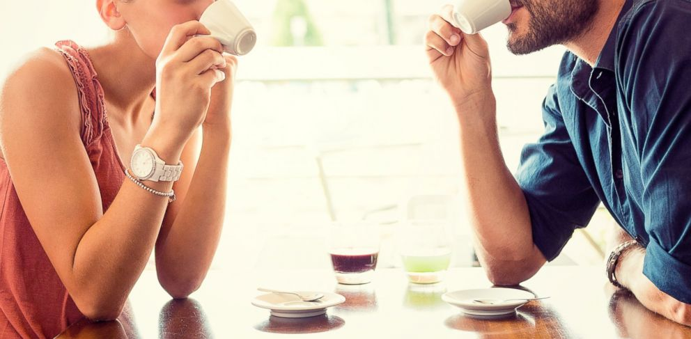 PHOTO: A couple is pictured drinking coffee in this stock photo.