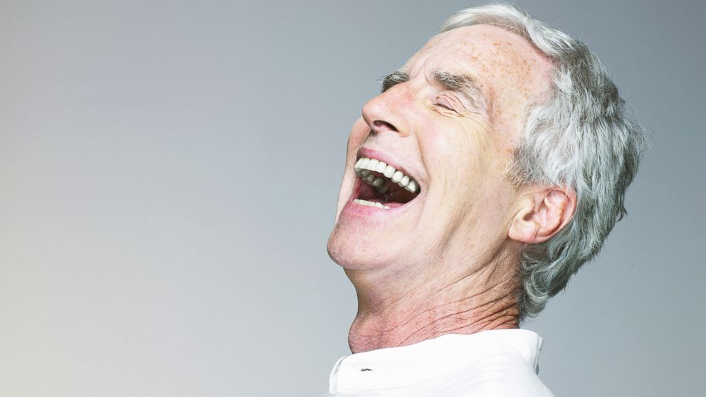 PHOTO: New research suggests that laughter can improve short-term memory in older adults.