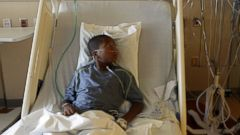 PHOTO: Childrens Hospital Colorado is seeing high numbers of respiratory illnesses. 9-year-old patient Jayden Broadway of Denver is being treated at the hospital seen in this Sept. 8, 2014 photo for the Enterovirus D68.