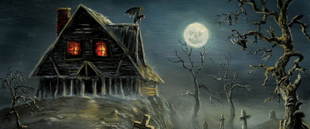 PHOTO: A haunted house on a hill is shown in this rendering.