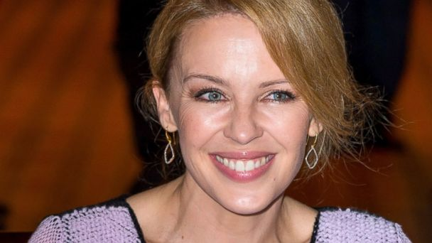 "PHOTO: Kylie Minogue attends the ""APREC"" cancer research association benefit auction dinner, Oct. 14, 2013, in Paris."