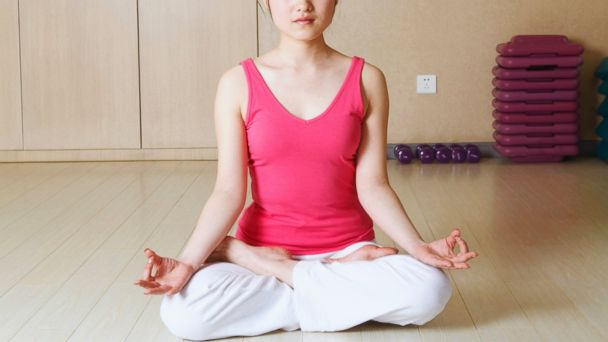 PHOTO: Regular meditation reduces your chance for heart attacks and strokes.