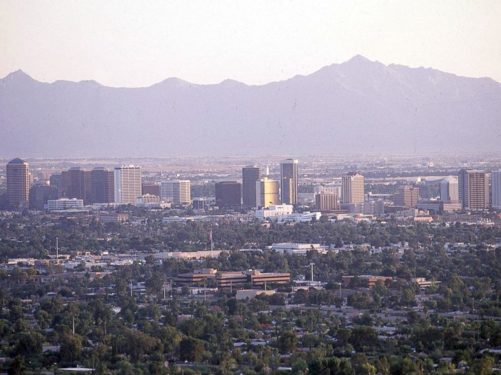 PHOTO: A view of the Phoenix, Ariz. skyline.