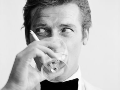 PHOTO: Roger Moore portrays British spy James Bond.