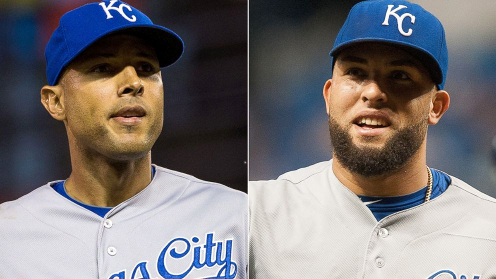 PHOTO: Two Kansas City Royals players have come down with a case of the chicken pox.
