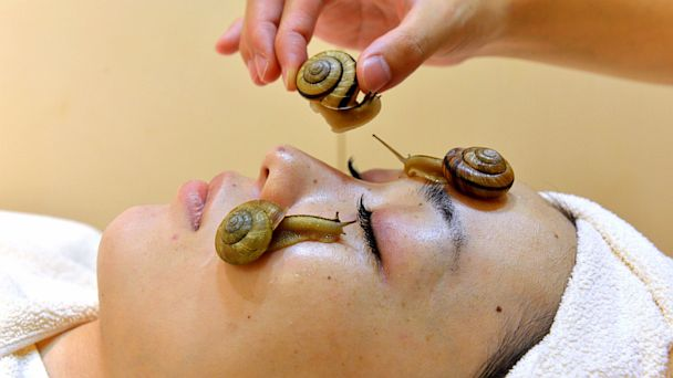 GTY snail facial 2 nt 130715 16x9 608 Snail Facials Probably Wont Work, Dermatologists Say