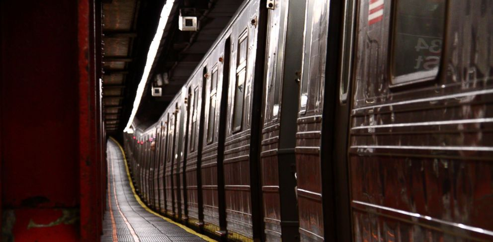 PHOTO: A New York City subway train is pictured in this stock image.