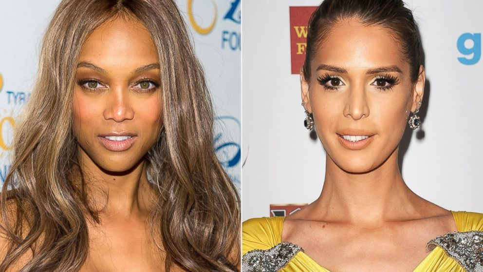 PHOTO: Tyra Banks attends Tyra Banks Flawsome Ball 2014 at Cipriani Wall Street, May 6, 2014, in New York. | Carmen Carrera attends the 25th annual GLAAD Media Awards at The Beverly Hilton Hotel, April 12, 2014, in Beverly Hills, Calif.