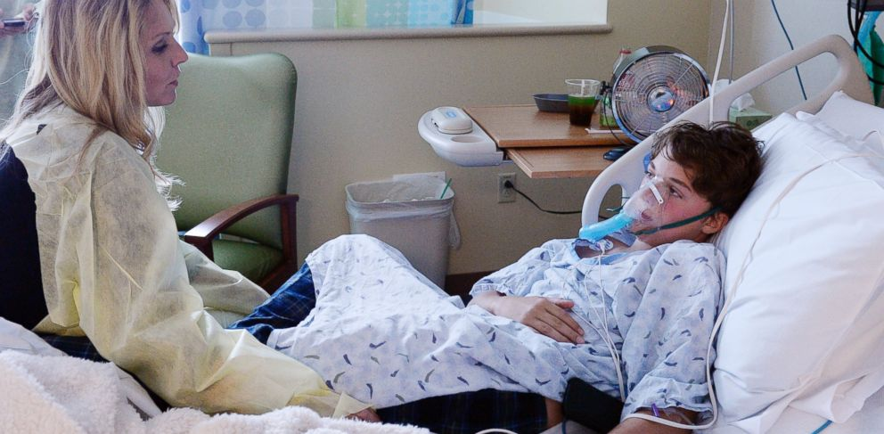 PHOTO: Will Cornejo,13, is recovering at Rocky Mountain Hospital for Children at Presbyterian/St. Lukes Medical Center in Denver, in this Sept. 5, 2014 file photo.