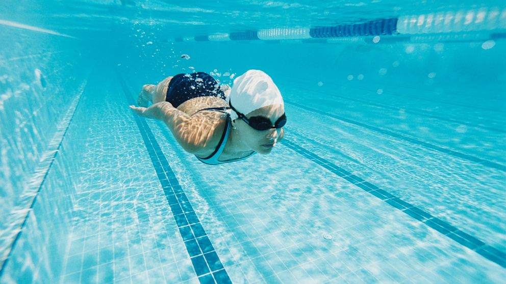 12 ways to stay active despite the heat abc news How to draw swimming pool water