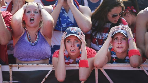 GTY world cup fans kab 140623 16x9 608 Why Did U.S. Soccer Fans Grab Their Heads at the Tying Goal?