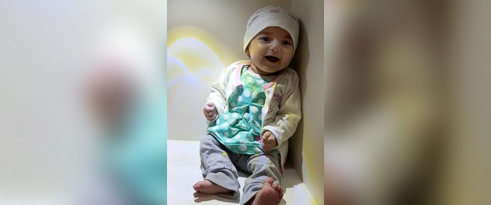 PHOTO: Fatemeh Reshad, an infant from Iran with a life-threatening heart condition, will be treated at OHSU Doernbecher Childrenâ??s Hospital in Portland, Oregon.