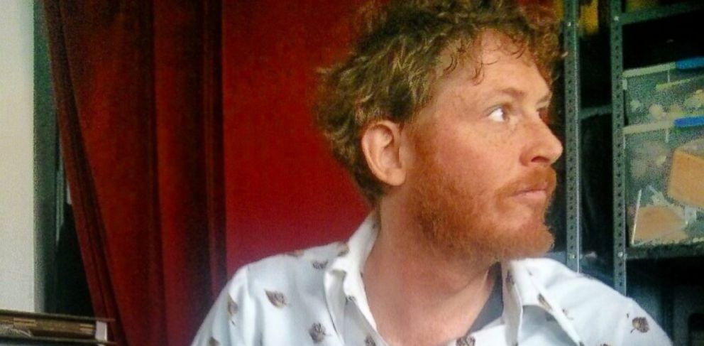 PHOTO: Brian Braiker, a guitar player in the band, the DeLorean Sisters, is often mistaken as Irish because of his red hair.
