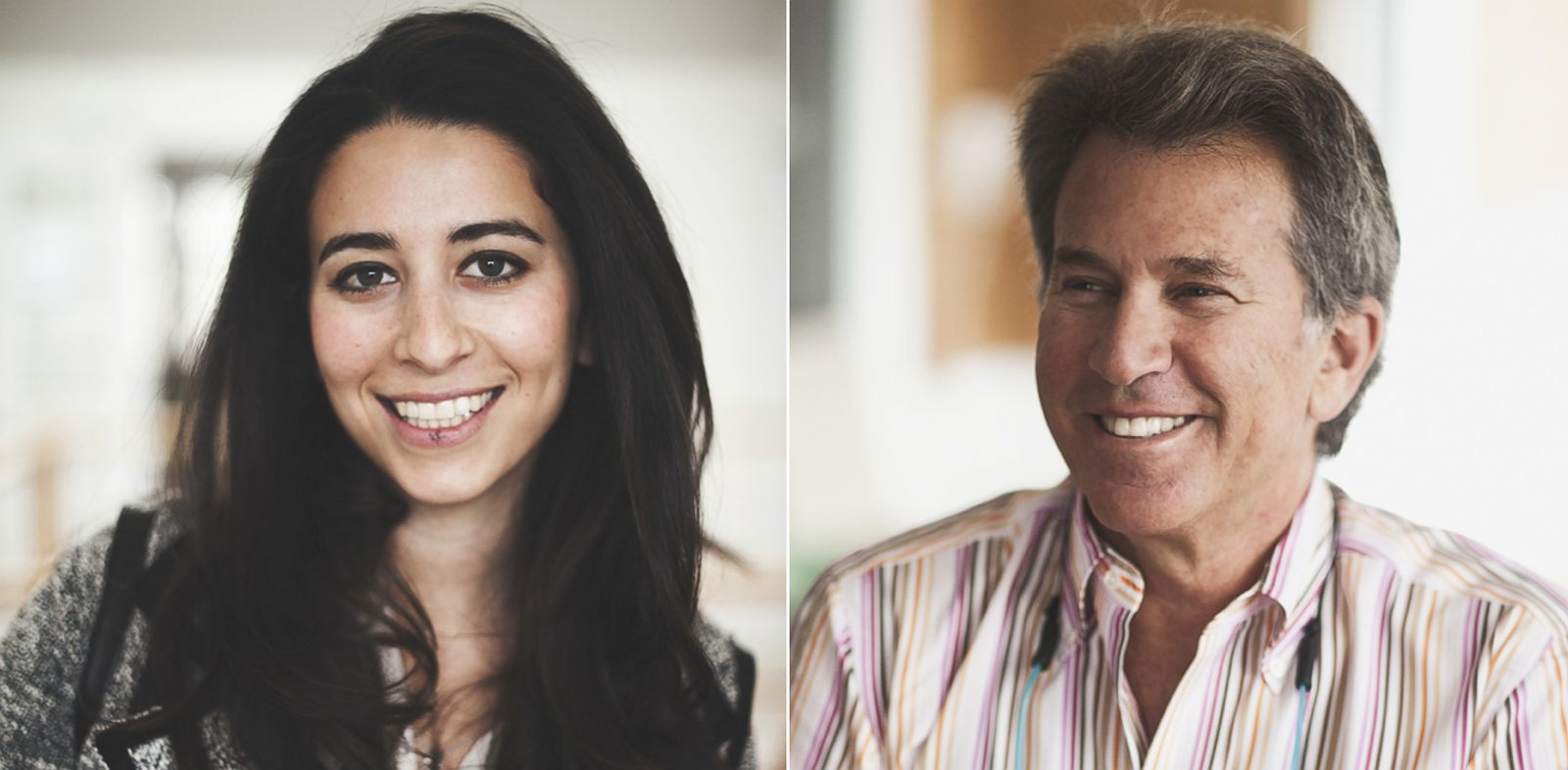 PHOTO: Father-daughter team Jeffrey and Meika Hollender are marketing a new condom, Sustain.