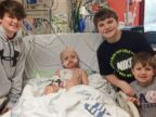 PHOTO: Josh Harding, 7, has beat cancer four times, but a virus could kill him.