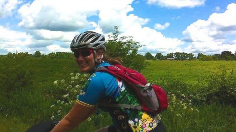PHOTO: Merritt Levitan on her Overland trip shortly before her death.