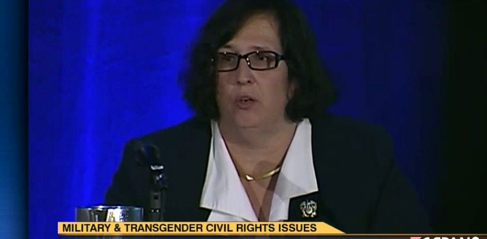 PHOTO: Paula Neira, who is transgender, spoke on Lavender Law at the LGBT Bars annual conference last year in Washington.
