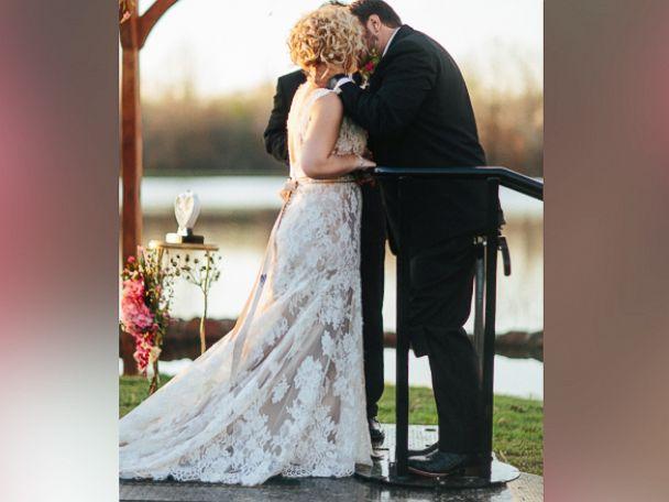 PHOTO:Kent Stephenson married Misti Richeson last week.