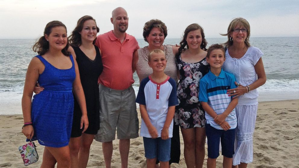 PHOTO: Both Tricia Seaman and Tricia Somers went on vacation together with their families.