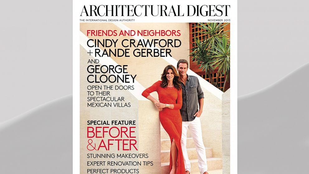 PHOTO: Architectural Digests November issue.