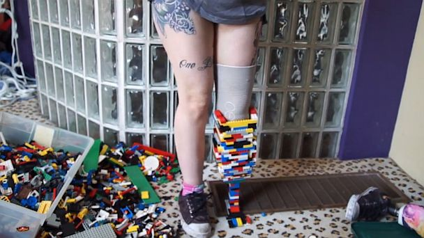 HT amputee legos ml 130703 16x9 608 Woman Builds LegoLeg Prosthetic