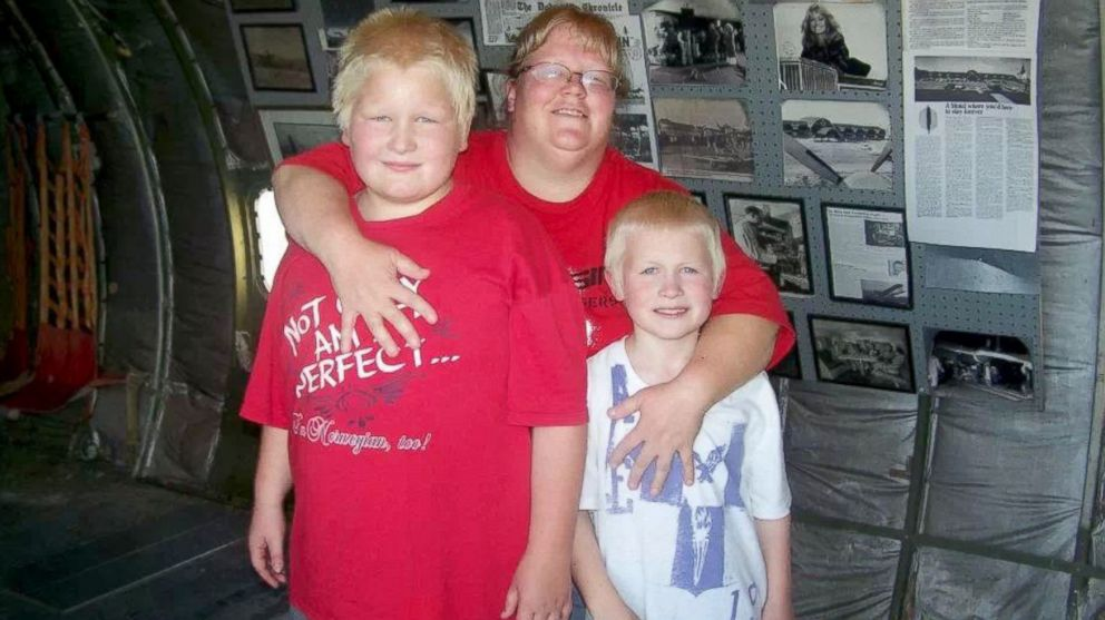 PHOTO: Andrea Frank, with sons Josh and Colin, was not diagnosed with ADHD until she was an adult.