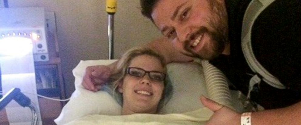 PHOTO: Tyson and Ashley Gardner traveled to California so Ashley Gardner could undergo emergency surgery.