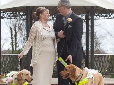 Blind Couple Weds Thanks to Doggone Introduction