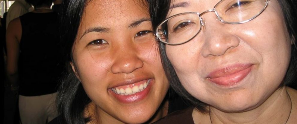PHOTO: Minh-Chi and her mother Mai-Phuong Tran are seen here at her cousins optometry school graduation.