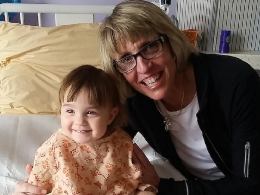 PHOTO: Cindy Smith donated a kidney to her toddler granddaughter earlier this year.