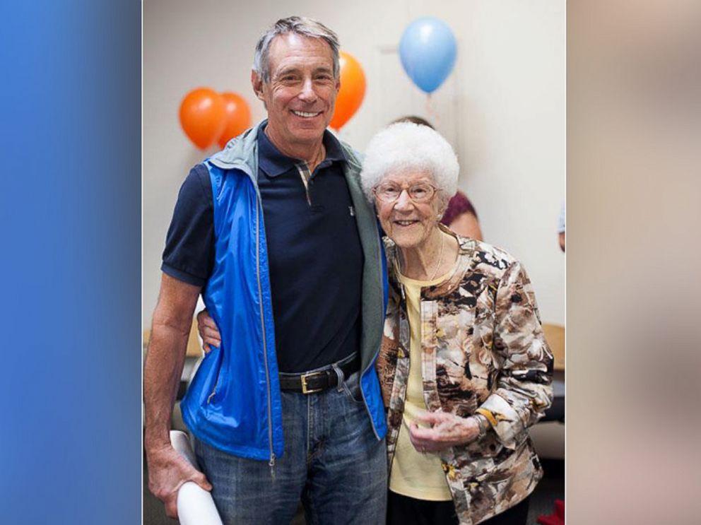 PHOTO: Edythe Kirchmaier celebrates her 106th birthday.